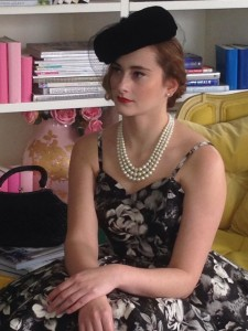 Behind the scenes fashion shoot. ‪#‎hair‬ and ‪#‎makeup‬ by Vivian Ashworth www.vivianashworth.com.au  .I just ‪#‎love‬ the ‪#‎glamour‬ of the 50s ‪#‎madmen‬ ‪#‎dresses‬ Vintage Rose http://www.vintagerose.com.au/the_closet.html  Models Caitlyn McMahon and Ash Millman ‪#‎springracing