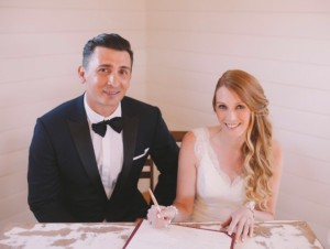 Such a lovely wedding,Shane's Hair and makeup by Vivian Ashworth ,Flower bouquet by Richard N— at Sault Restaurant Daylesford.